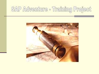SAP Adventure - Training Project