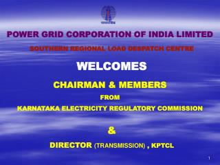 CHAIRMAN & MEMBERS FROM KARNATAKA ELECTRICITY REGULATORY COMMISSION