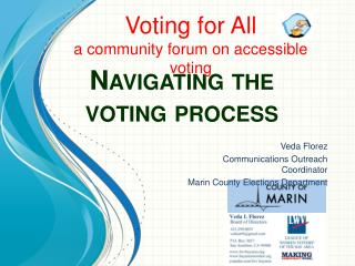 Navigating the voting process