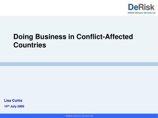  DeRisk Advisory Services Ltd.