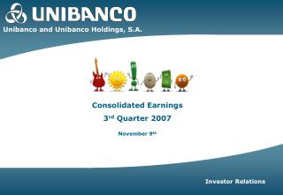 Unibanco and Unibanco Holdings, S.A.