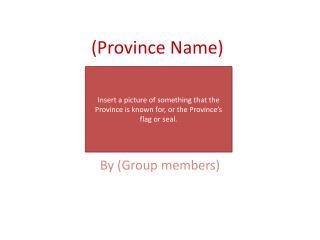 Province Name
