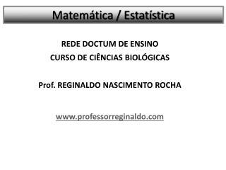 Matemática / Estatística