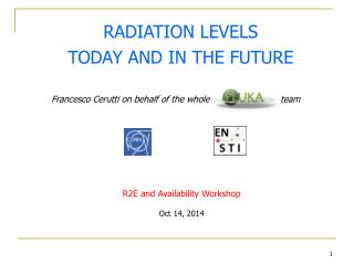 RADIATION LEVELS TODAY AND IN THE FUTURE