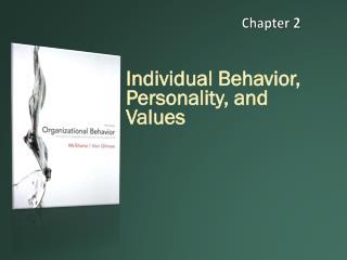 Individual Behavior, Personality, and Values