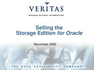 Selling the  Storage Edition for Oracle