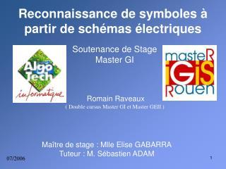 Reconnaissance de symboles à partir de schémas électriques