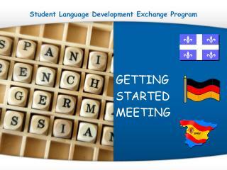 Student Language Development Exchange Program