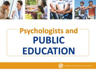 Psychologists and Public education