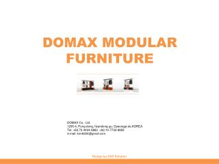 DOMAX MODULAR FURNITURE