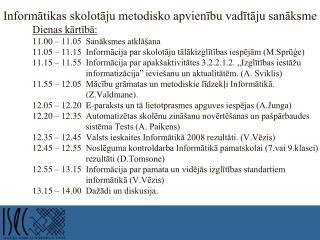 Valsts ieskaite informātikā  2007./2008. m.g.