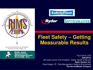 Fleet Safety – Getting Measurable Results