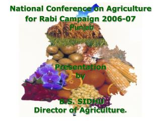 National Conference on Agriculture  for Rabi Campaign 2006-07 Punjab