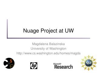 Nuage  Project at UW