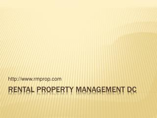 Rental Property Management DC