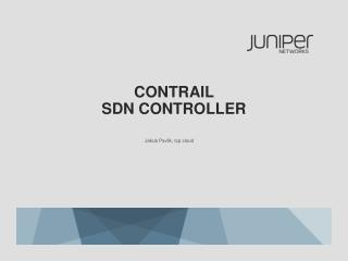 contrail  SDN CONTROLLER