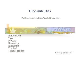 Dino-mite Digs