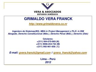 GRIMALDO VERA FRANCK