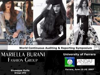 Ferrara, June 15-16, 2007
