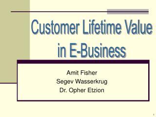 Amit Fisher Segev Wasserkrug Dr. Opher Etzion