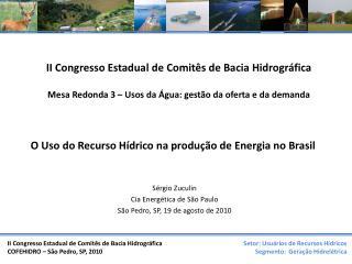 II Congresso Estadual de Comitês de Bacia Hidrográfica