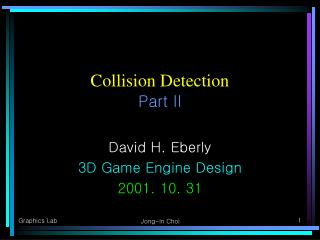 Collision Detection Part II