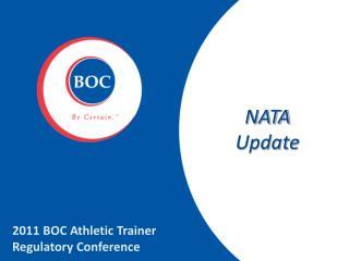 NATA Update