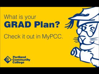 Access GRAD Plan from your  My Courses tab