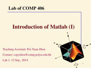 Lab of COMP 406