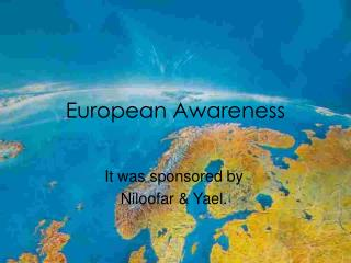 European Awareness