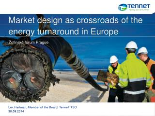 Market design as crossroads of the  energy turnaround in Europe