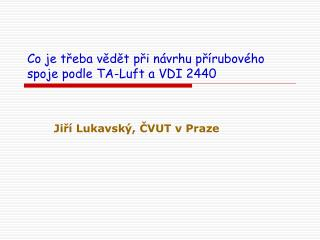Co je třeba vědět při návrhu přírubového spoje podle TA-Luft a VDI 2440