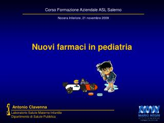 Nuovi farmaci in pediatria