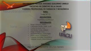 UNIVERSIDAD  PRIVADA ANTONIO GUILLERMO  URRELO FACULTAD DE CIENCIAS DE LA SALUD