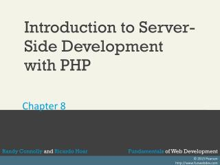 Introduction to Server- Side Development  with PHP