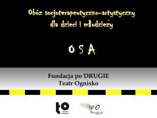 Obóz socjoterapeutyczno-artystyczny  dla dzieci i młodziezy  O S A