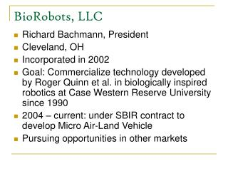 BioRobots, LLC