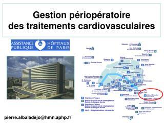 Gestion périopératoire  des traitements cardiovasculaires