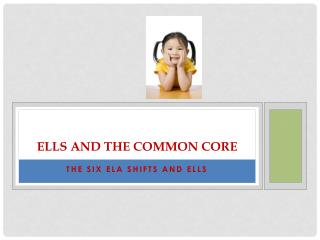 ELLs and the Common Core