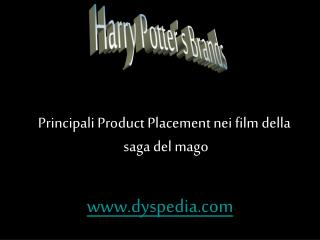 Harry Potter's Brands