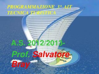 PROGRAMMAZIONE  3^ AIT  TECNICA TURISTICA