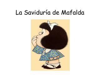 La Saviduría de Mafalda