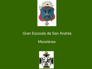 Gran Escocés de San Andrés