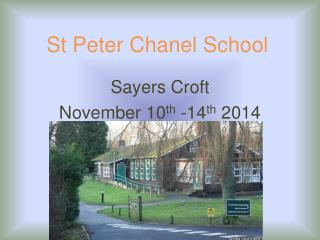 St Peter Chanel School