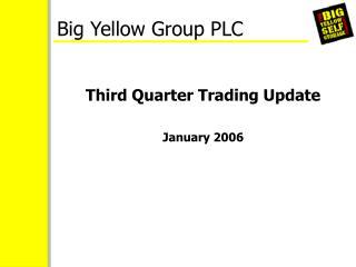 Big Yellow Group PLC