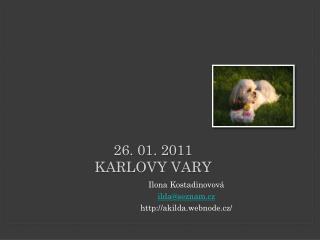 26. 01. 2011 Karlovy Vary
