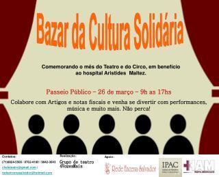 Bazar da Cultura Solidária