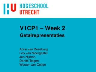 V1CP1 – Week 2