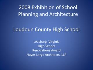 Loudoun County High School