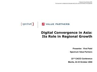 Digital Convergence in Asia: Its Role in Regional Growth